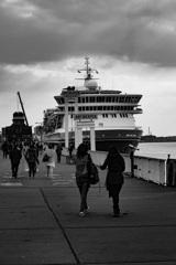 アントワープの船着場