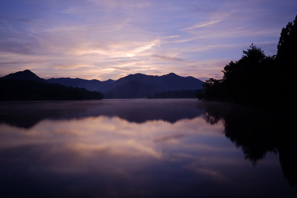 千丈寺湖 リフレクション