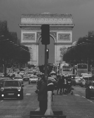 シャンゼリゼから凱旋門