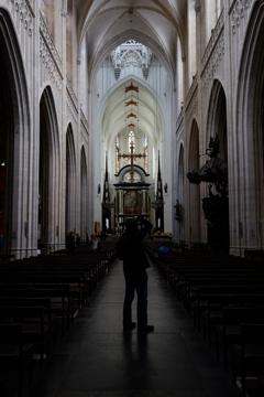 大聖堂を撮る人