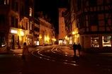 エアフルトの夜の街