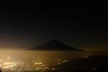 富士夜景。
