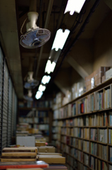 古書店の奥