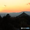 古都奈良の夕景