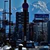 越中富山の冬晴れ
