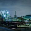 工業地帯の船着き場