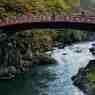 日光神橋の紅葉その3