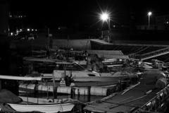 大竹コンビナートの近くの漁港♪