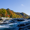紅葉と小滝の瀬