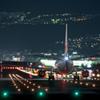 夜の出発便