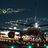 Depart at night  「Boeing 777-200 」