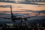 いつもの夕暮れ Boeing 737-800