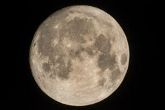 月と向き合う