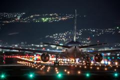 SP500mmF8の眺め 「Boeing 767」