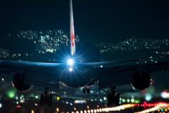 夜の輝き 「Boeing 777-300ER 」