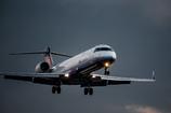 穏やかな夕暮れ  「IBEX Bombardier CRJ-700」