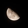 昨日の月見