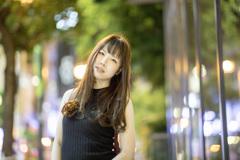 「Snap Photo 2018 no.23 : 夜に出逢った女子さん」