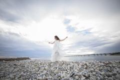 「Cloudy sky blue sea」4