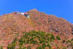 秋の仁田峠