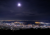 FUJIFILM X-T2で撮影した(夜の海)の写真(画像)