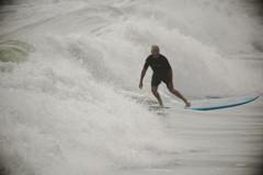 ロングボードサーフィン