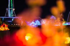 よみうりランドの夜景