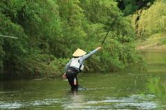 釣り人1人