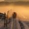 雪と霧の山口線