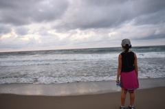 鳥取砂丘からの日本海