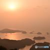 九十九島の夕焼け
