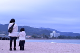 冬の海:青島神社