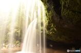 光と水のカーテン
