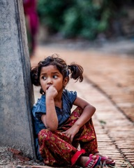 Nepali children's photo