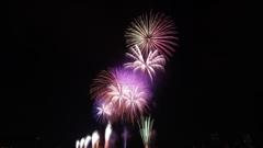 第43回江戸川花火大会中盤盛り上がり