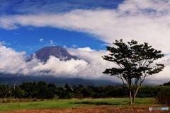 八月最後の富士の山