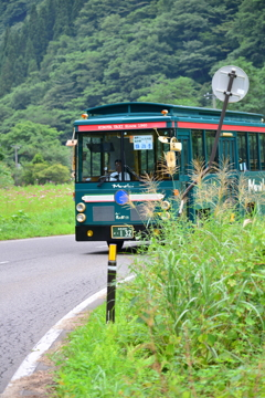 大内宿⑰ バス