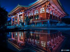 浅草寺reflection