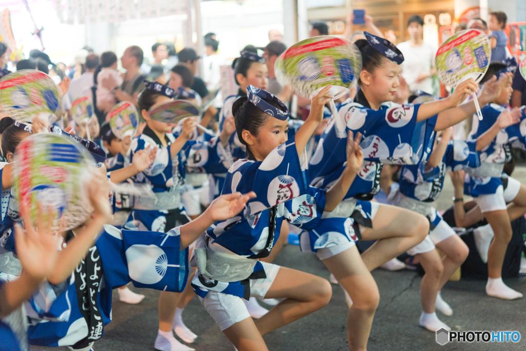 第50回 なべよこ夏まつり 2017/08/05 阿波踊り(1)