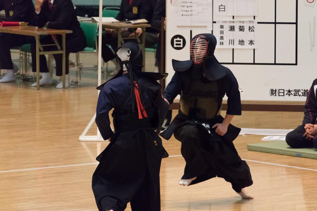 全日本短剣道大会 平成29年2月12日 高校生