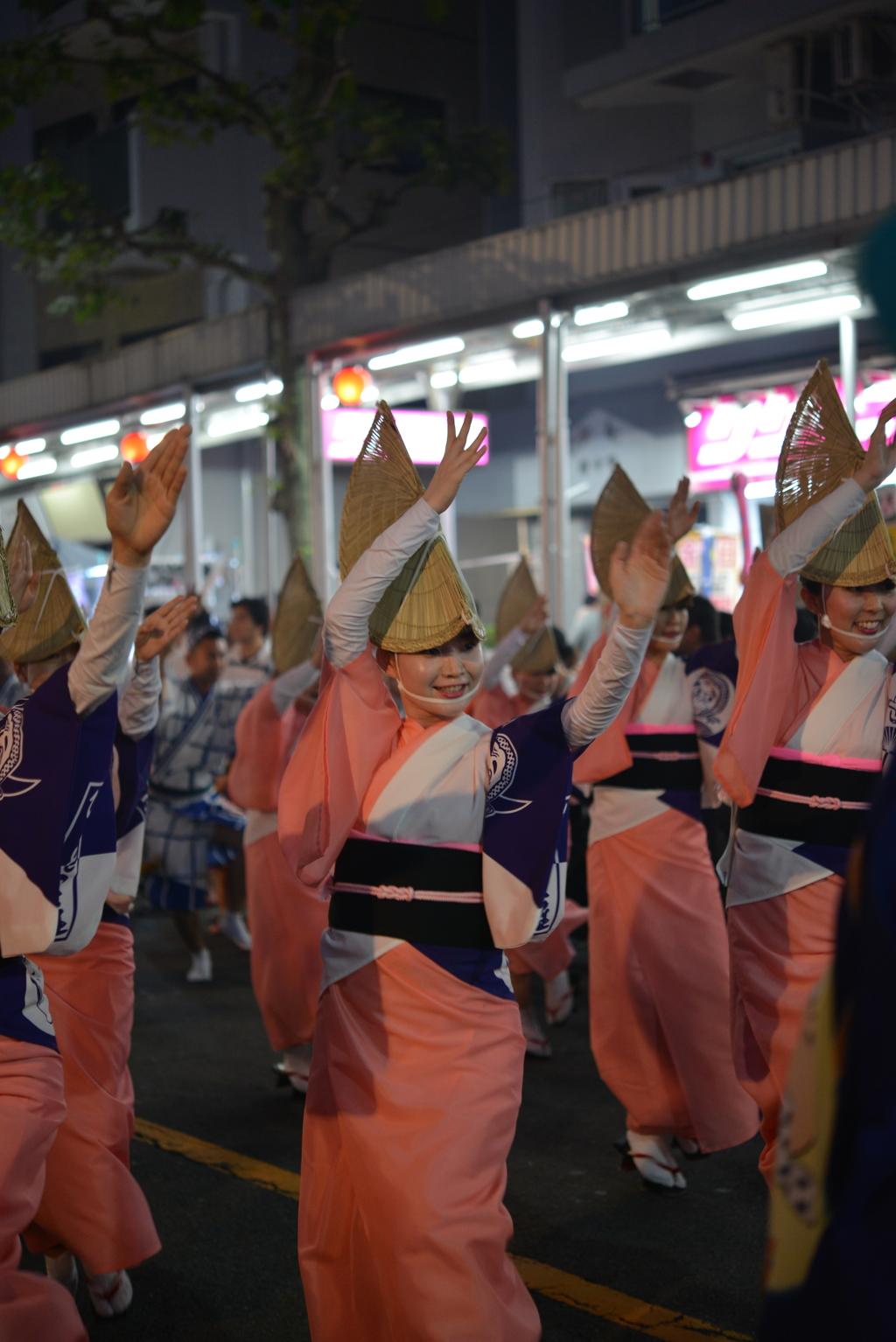 第50回 なべよこ夏まつり 2017/08/05 阿波踊り(5)