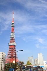 赤羽橋から見る東京タワー