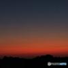 金星と朝焼け
