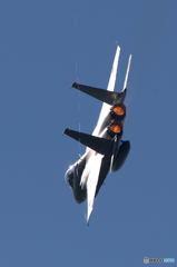 F15Jの機動飛行