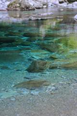 青い水 ~安居渓谷Ⅴ~