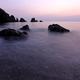 かはたれ時の海 ~横浪半島、五色の浜~