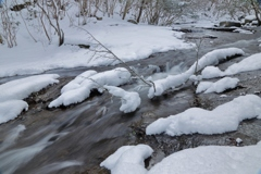 るり渓 冬の顔Ⅲ
