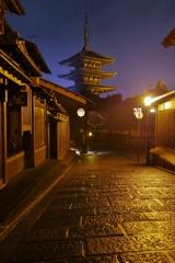法観寺 八坂の塔 ~雨上がりの京まち散歩Ⅲ~