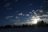 越の国の冬空 ①