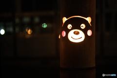 くまモン灯籠